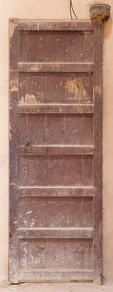 morocco door wood painted medieval old