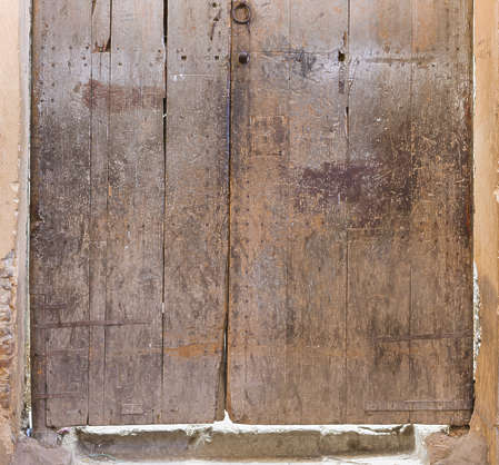 morocco door wood