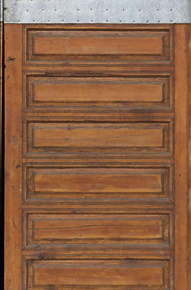 morocco door wood medieval old double