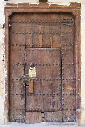 morocco door wood medieval old planks