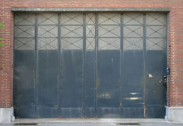 door garage metal
