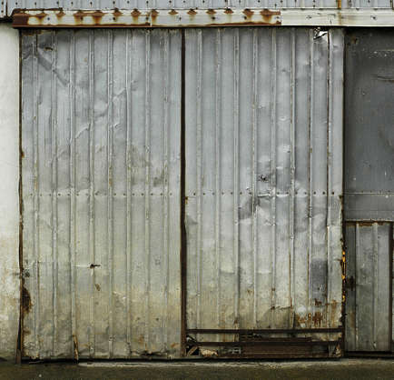 door industrial garage