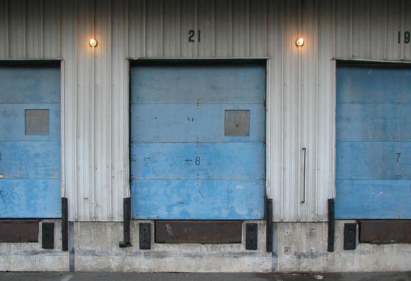 door industrial garage metal