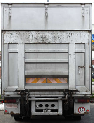 vehicle truck door metal