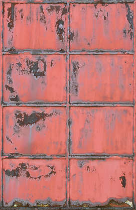 door metal rusted paint plate plates