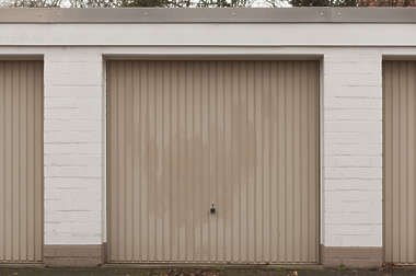 door metal gate garage