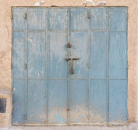 morocco metal door double dirty
