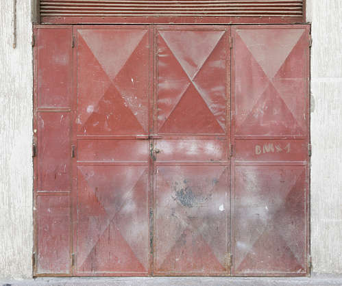morocco metal door double