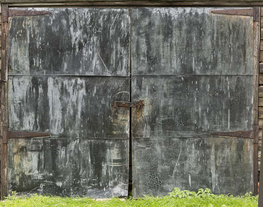UK door barn double metal