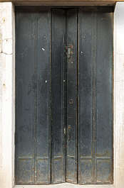 venice italy door double screen metal