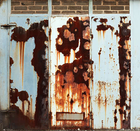 paint rusted rust door doors