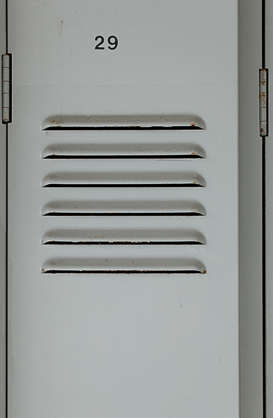locker door metal
