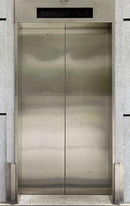 Door Elevator Metal Stainless Steel Clean Double Hong Kong Hongkong