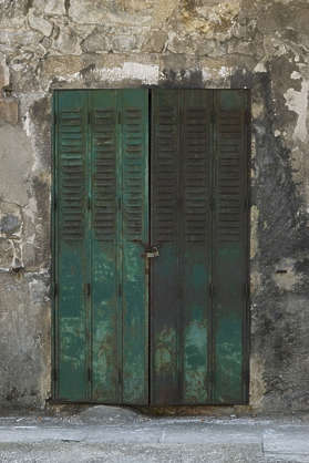door metal shutters rust