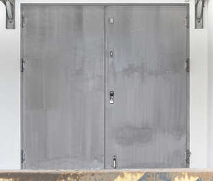 door double metal