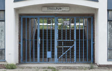 door stadium gate
