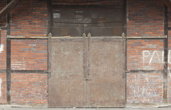door double metal sliding big