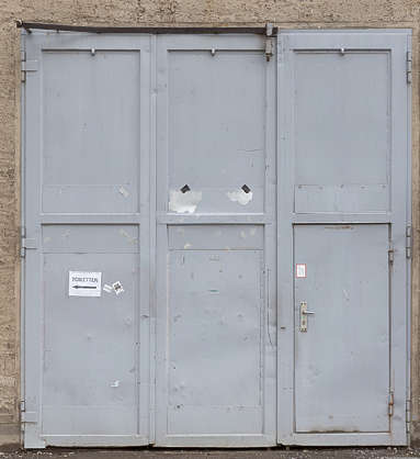 door metal big