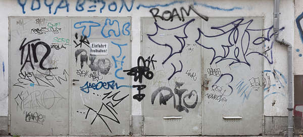 door double graffiti germany