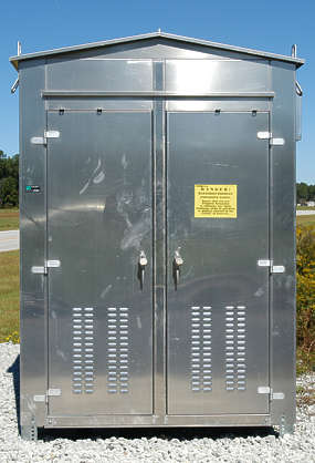 utility box building electricity