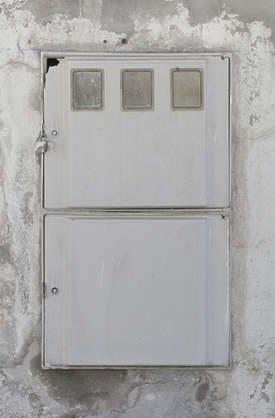 metal door small spain