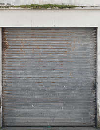 door garage rollup metal