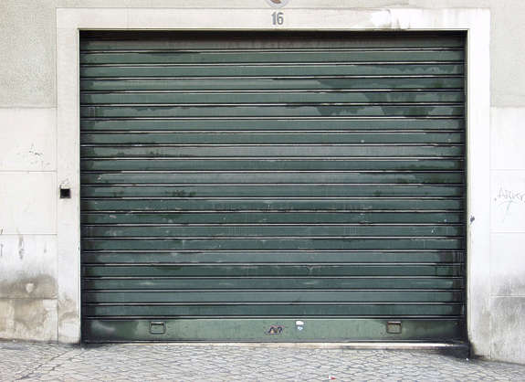 door metal rollup garage