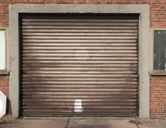 door metal garage rollup