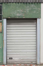 door rollup single metal