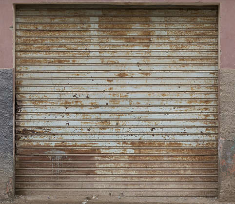 Doorsrollup0136 Free Background Texture Morocco Metal