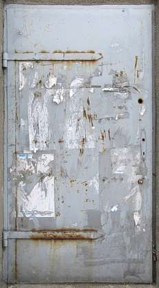 door metal industrial rust rusted