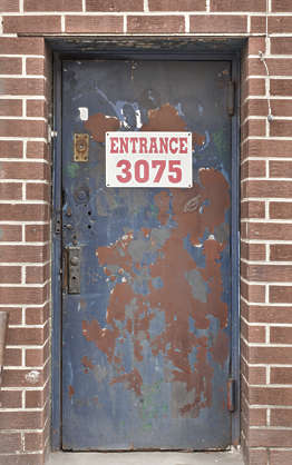brooklyn NY new york door metal single