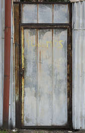 door single metal