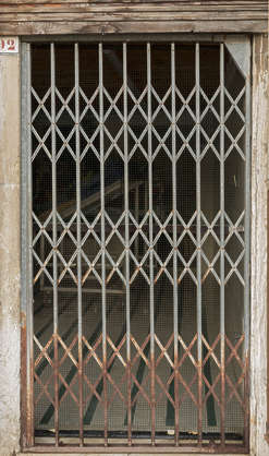 venice italy door grate metal screen