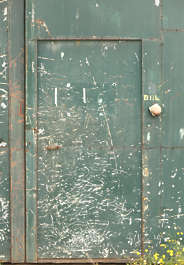 door scratches metal single scratched scratch paint