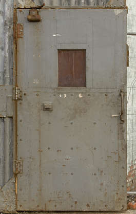 door metal single industrial