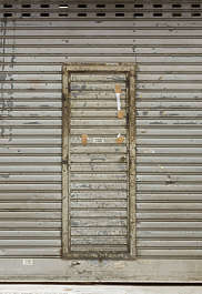 door single metal old rollup hong kong hongkong
