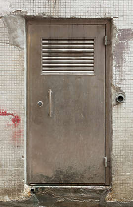 door single metal old vent hong kong hongkong