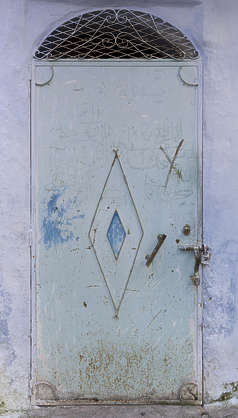 morocco metal door single