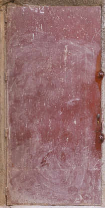 metal door single painted paint