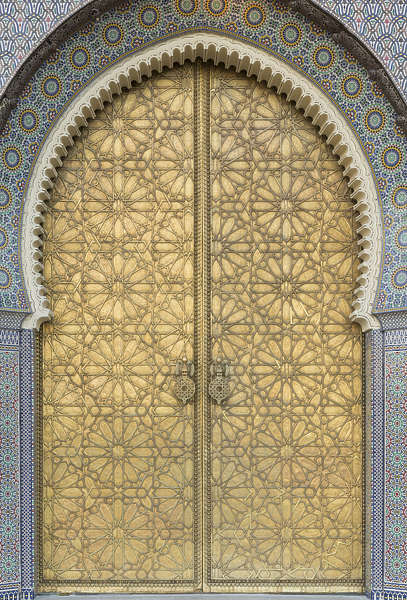 Doormoorish0017 Free Background Texture Morocco Metal