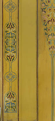 ornament moorish morocco elevator door doors painted mural