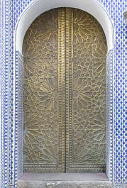 door doors morocco arabic moorish ornate brass