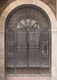 door doors morocco arabic moorish ornate wooden double arch