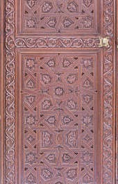 panel morocco arabic moorish ornate wooden