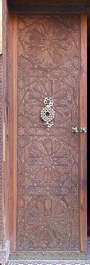 door doors morocco arabic moorish ornate wooden