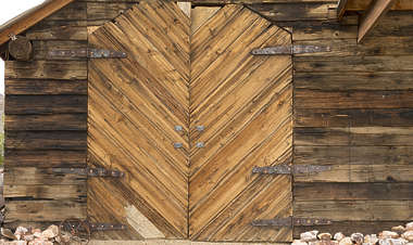 USA nelson ghost town ghosttown door barn wooden gate double nelson_007