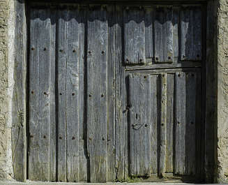 door wood barn old planks garage