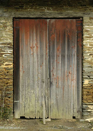 door barn old planks