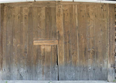 door double barn